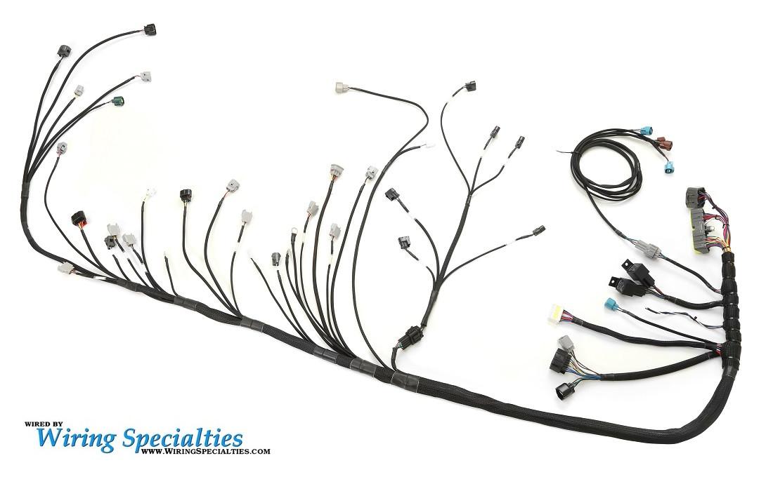 s13 240sx 2jzgte swap wiring harness wiring specialties. Black Bedroom Furniture Sets. Home Design Ideas