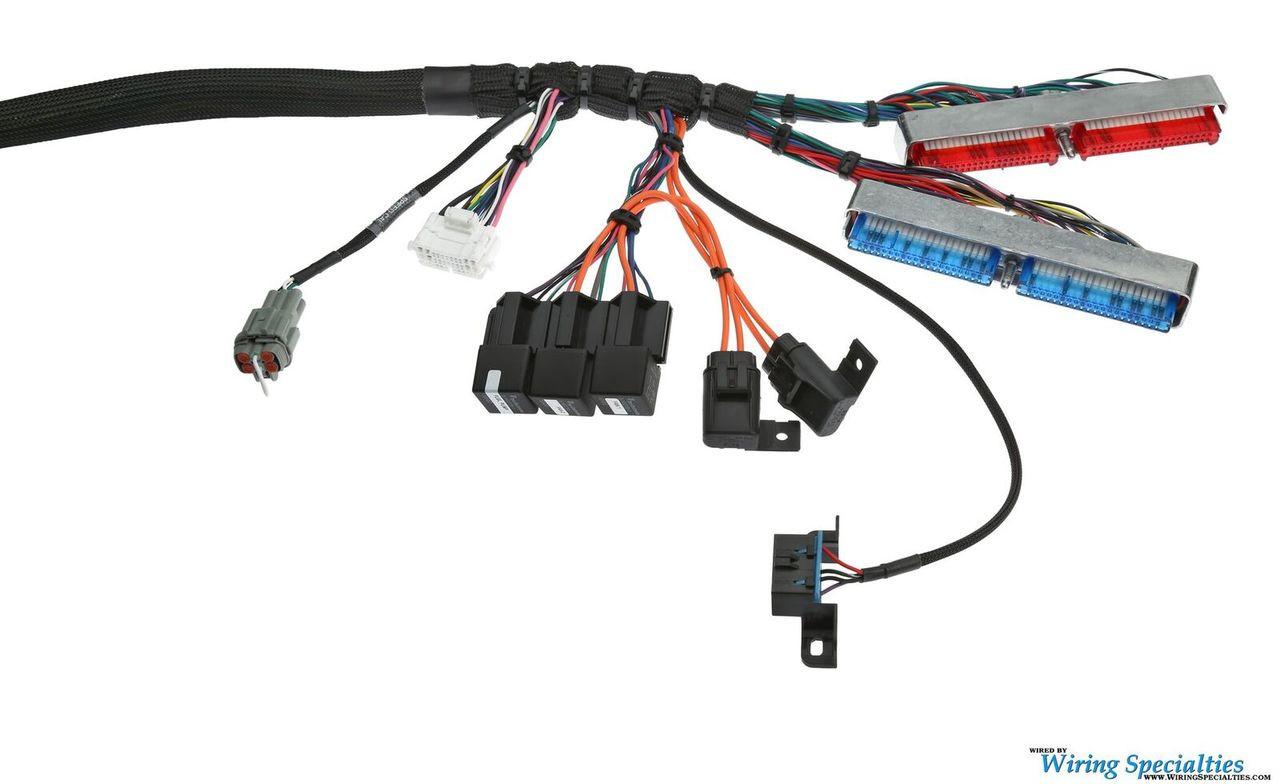 ls1 vortec swap wiring harness for s13 240sx pro series ls1 wiring harness diagram parts bin wiring specialties ls swap