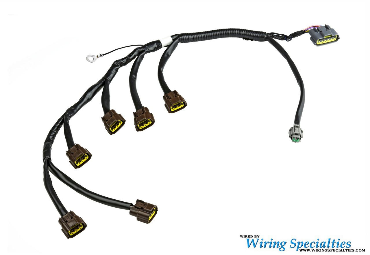 rb25det engine harness for s14 240sx