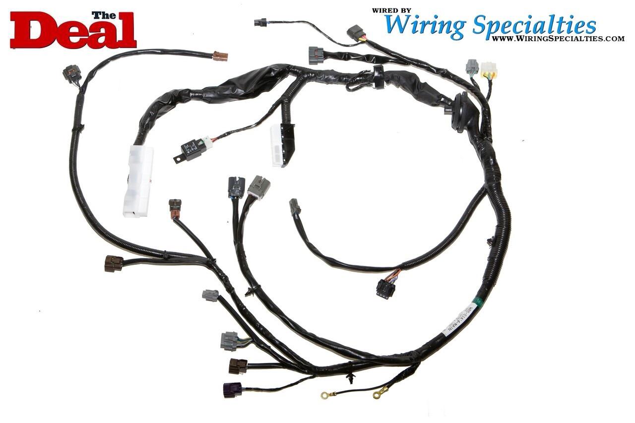 240sx s14 sr20det wiring harness wiring specialties rh wiringspecialties com