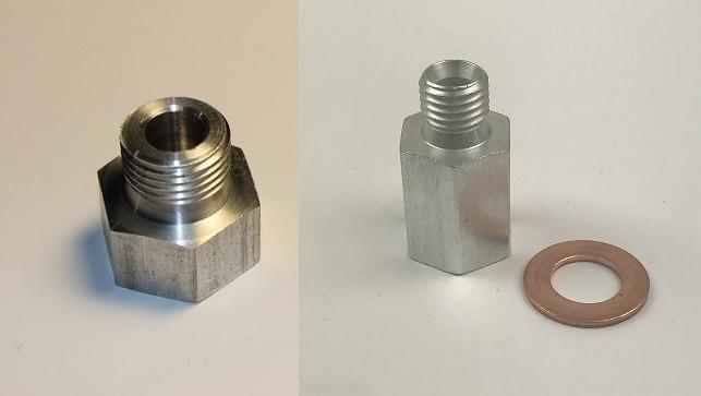 LS1 Coolant Temp and Oil Pressure Sensor Adapters