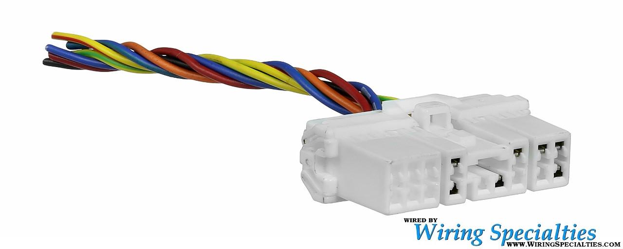 sohc s13 dash interface connector S13 Rear