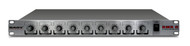 RMX-6 6 channel Rackmount Mono Microphone / Line mixer with phantom power and master tone controls(Refurbished)