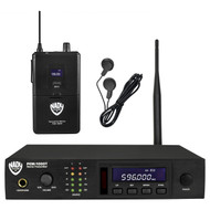 Nady PEM-1000- Wireless In-Ear Monitoring System w/100 UHFChannels FREE SHIPPING ( Refurbished)