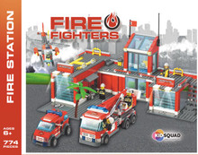 Fire Station Block Set