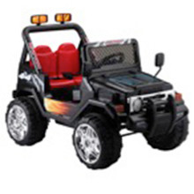 Wrangler-Style Ride-On - Black