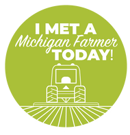 I Met a Farmer Sticker