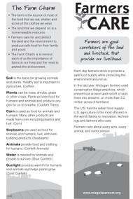 Farmers CARE Bookmark