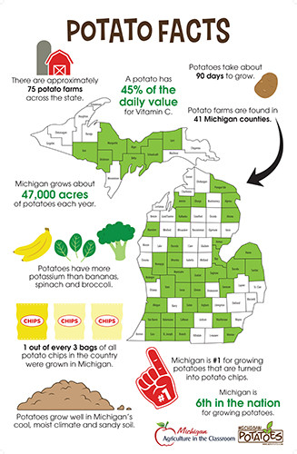 Potato Facts Poster