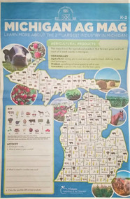 Learn about Michigan Agriculture - our states 2nd largest industry. In this K-2 newspaper, break down food groups and learn about the life cycle of corn.