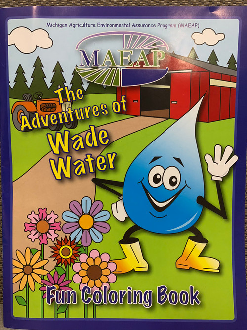 The Adventures of Wade Water coloring book