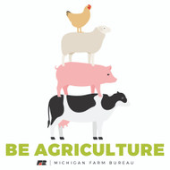 Be Agriculture Stickers (Packages of 50)