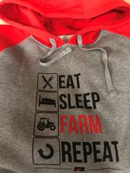 Eat Sleep Farm Sweatshirt
