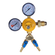 Primary Beer Regulator - Nitrogen - Dual Gauge - Dual Outlet - R1202-2
