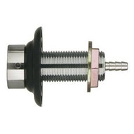 """Draft Beer Nipple Shank Assembly - 3-1/2"""" with 3/16"""" Bore"""