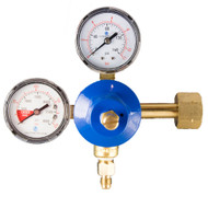 Double Gauge Soda Regulator - CO2 Primary - R1311