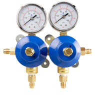 2 Pressure 2 Product Soda Regulator - Secondary Co2 - High Volume - R1422