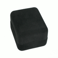 Black Ecosuede Pendant / Earring Box - Small