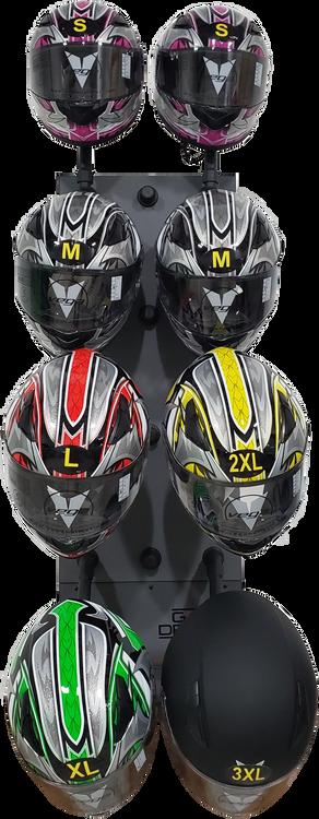 Helmet Dryer with Helmets