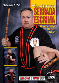 SERRADA ESCRIMA  3 DVD SET (Vol-1, 2 & 3) By GM Darren Tibon
