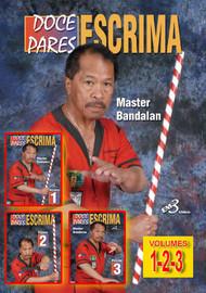 DOCE PARES ESCRIMA (Vol. 1-2-3) By Alfredo Bandalan