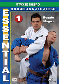 ESSENTIAL BRAZILIAN JIU JITSU Vols. 1–2–3 (3DVD Set) By Renato Magno