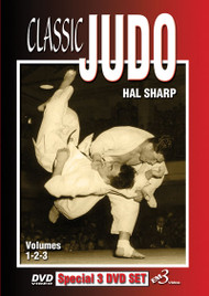 CLASSIC JUDO Vol. 1-2-3  - 3 DVD Set by Hal Sharp