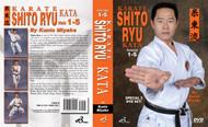Karate Shito Ryu Kata  (DVD Set Vol-1-5) By Kunio Miyake