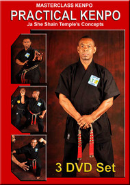 PRACTICAL KENPO – VOL. 1-2-3 Set - Ja She Shain Temple's Concepts by Professor Robert Temple