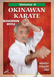 OKINAWAN KARATE  SHORIN RYU Vol. 4 By Master Eihachi Ota