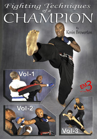 Karate FIGHTING TECHNIQUES of a CHAMPION  by Kevin Brewerton
