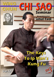 Wing Chun CHI SAO Seminar - 2016 Belgium Vol-12 (2 Disc Set) by GM Samuel Kwok