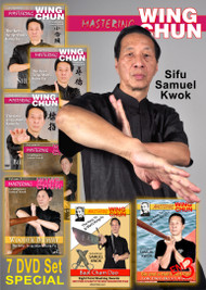 MASTERING WING CHUN 7 DVD Collectors Edition Volume 1, 2, 3, 4, 5, 6, & 7  The Keys To Ip Man's Kung Fu  By Grandmaster Samuel Kwok AS TAUGHT BY THE GREAT GRANDMASTER IP MAN