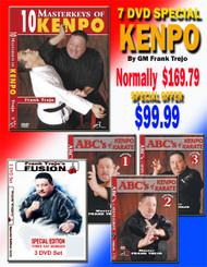 7 DVD Set SPECIAL By Grandmaster Frank Trejo