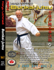 MASTERCLASS KATA BUNKAI SERIES Koryu Uchinadi - Bunkai-jutsu Volume 3 (3 Disc Set) By Patrick McCarthy Hanshi