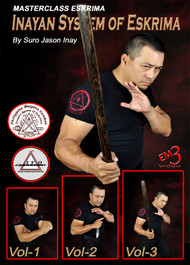 Inayan System of Eskrima (Vol-1, 2 & 3) By Suro Jason Inay