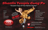 MASTERCLASS SERIES SHAOLIN TEMPLE GUNG FU SERIES Ancient Ways of the Warrior Monks