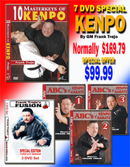 KENPO 7 DVD SPECIAL by Grandmaster Frank Trejo