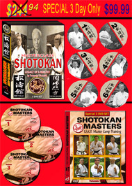 SHOTOKAN 2 DVD Sets SPECIAL - Masters Legacy and Shotokan Masters