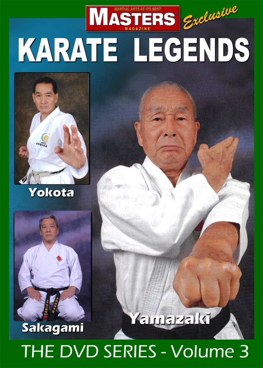 Ben Otake Ed Tomlinson Karate Legends Vol-12 with James Field