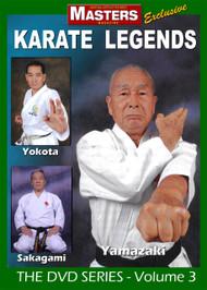 KARATE LEGENDS Vol-3 Yamazaki - Yokota - Sakagami