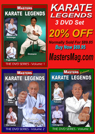 KARATE LEGENDS VOL-1-2-3 SPLECIAL