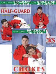 BRAZILIAN JIU JITSU (Vol-1. 2 & 3) DVD Set by Rigan Machado