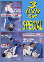 DYNAMIC BJJ - VOL-1-2-3 DVD SET
