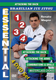 ESSENTIAL BJJ VOL. 1, 2, 3 & 4 (4 DVD Set SPECIAL)