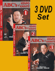 ABC'S OF KENPO KARATE VOL-1-2-3 SET