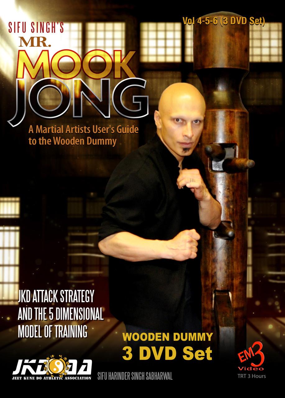 Mr Mook Jong Wooden Dummy Vol 4 5 6