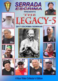 LEGACY-5 SERRADA ESCRIMA 2017 Seminar