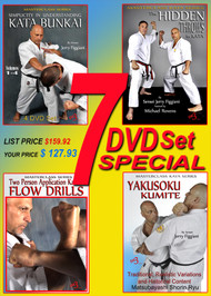 SHORIN RYU KARATE 7 DVD SPECIAL BY JERRY FIGGIANI