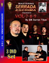 MASTERING SERRADA ESCRIMA Vol-7-8-9
